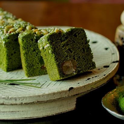 [萩王]松の緑 洋菓子