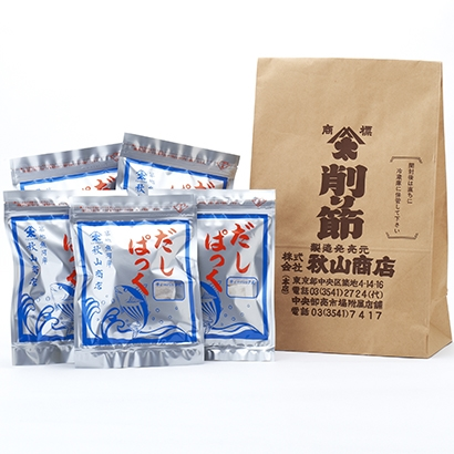 [築地鰹節問屋 秋山商店]混合 だしパック 海苔・佃煮・漬物