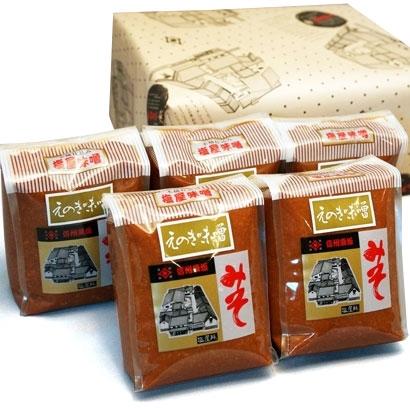 小田急オンラインショッピング[塩屋醸造] えのき味噌詰め合わせ(1kg×5) グロサリー・調味料
