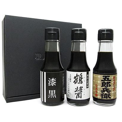 小田急オンラインショッピング[職人醤油]お肉料理に合う醤油3本セット A グロサリー・調味料