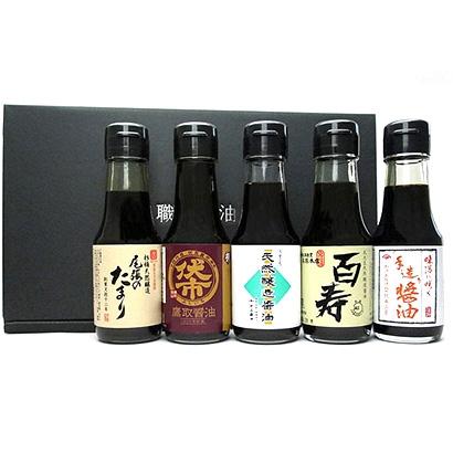 小田急オンラインショッピング[職人醤油]お魚料理に合う醤油5本セット グロサリー・調味料