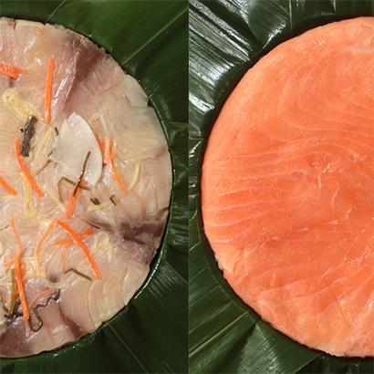 [富山・寿し工房 大辻]冷凍ます・ぶりの寿し 和惣菜・米飯