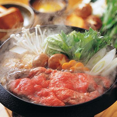 [三重]松阪牛すき焼モモ・バラ400g ツウこそ夏のすき焼き