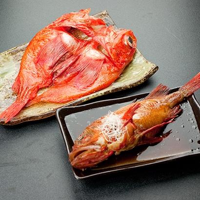 [知床工房]きんき姿煮・一夜干セット 海産物