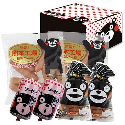 小田急オンラインショッピングくまモンのソーセージセット ハム・ソーセージ・肉加工品
