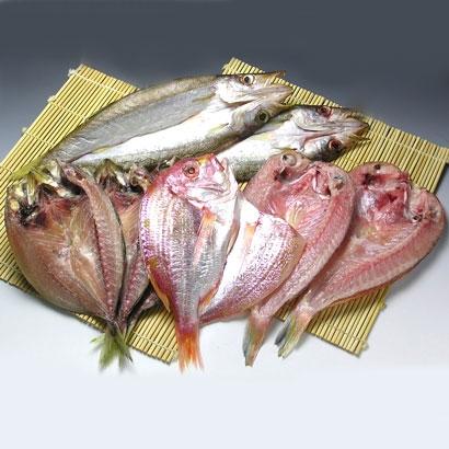 [山口・林商店]地魚の一夜干しセットB 干物・漬魚・うなぎ・魚卵