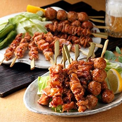 [福岡・博多華味鳥] 焼き鳥セット 和惣菜・米飯