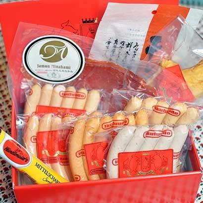 小田急オンラインショッピング長期熟成生ハムはもんみなかみとソーセージ詰め合わせ ハム・ソーセージ・肉加工品