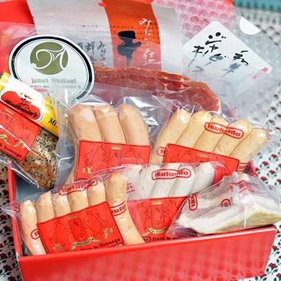長期熟成生ハムはもんみなかみと豚フィレのラストラミ詰め合わせ ハム・ソーセージ・肉加工品