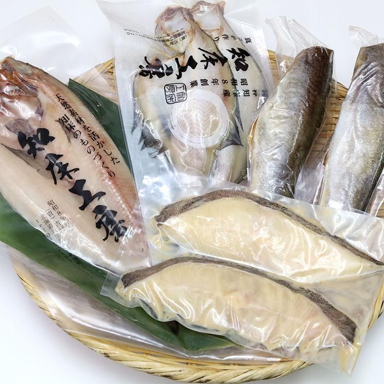 [知床工房よしの]物産展の人気セット S2 干物・漬魚・うなぎ・魚卵