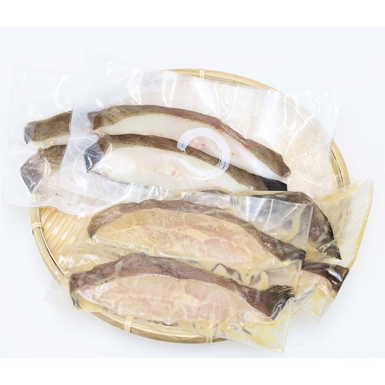 [知床工房よしの]銀がれい味噌漬け・一夜干し詰め合わせ S3 干物・漬魚・うなぎ・魚卵