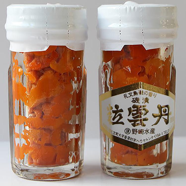 [野崎水産]粒うに一夜漬け(エゾバフンウニ)2本セット 海産物