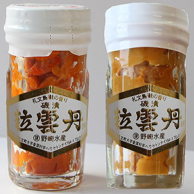 野崎水産粒うに一夜漬(エゾバフンウニ)(キタムラサキウニ) 干物・漬魚・うなぎ・魚卵