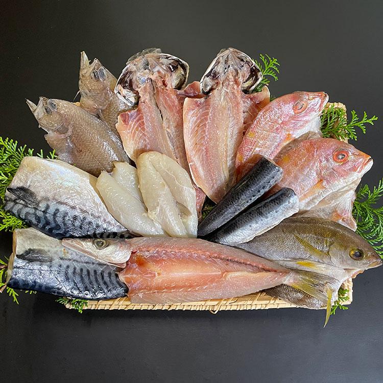 [梅のや]うす塩セットD 干物・漬魚・うなぎ・魚卵