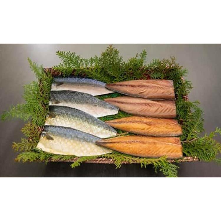 [梅のや]長崎産さばセット 干物・漬魚・うなぎ・魚卵