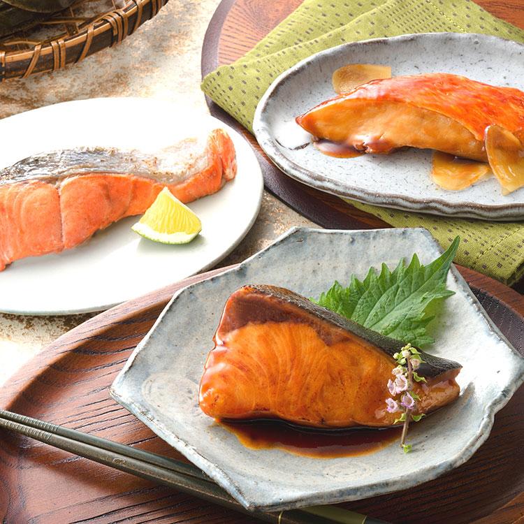 氷温熟成 煮魚・焼魚ギフトセット10切 NYG100 干物・漬魚・うなぎ・魚卵