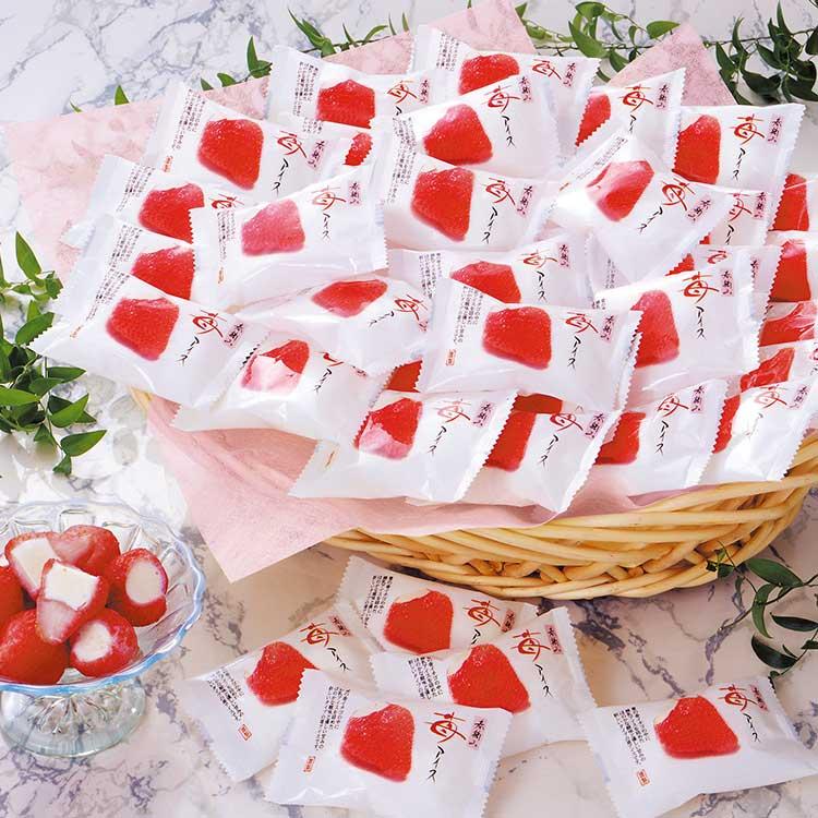 春摘み苺アイス(36個)AH-HBR アイス・乳製品