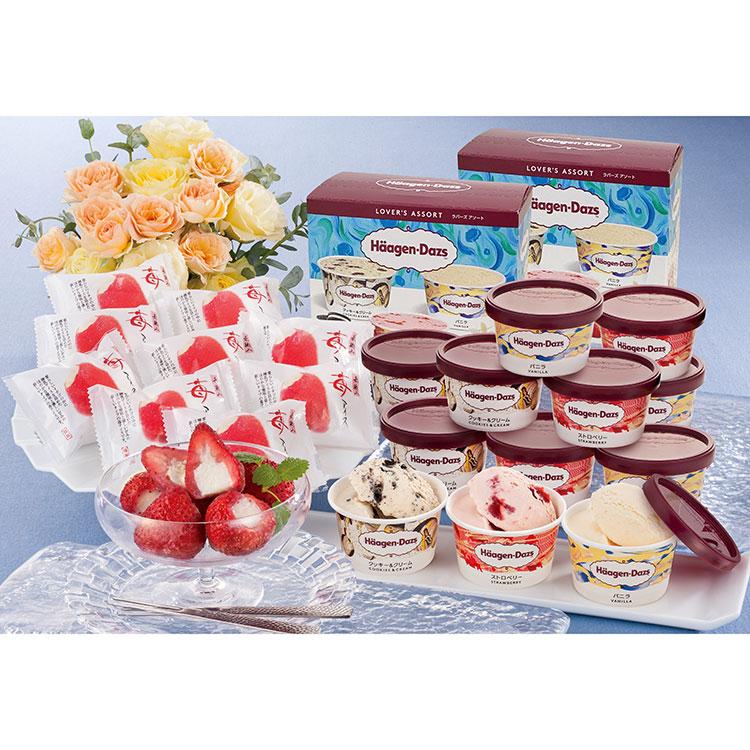 ハーゲンダッツ&苺アイス A-HGD アイス・乳製品