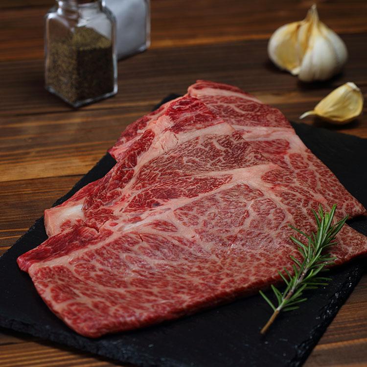 黒毛和牛肩ロースステーキ肉150gX2枚 バイヤー厳選 夏のお取り寄せ