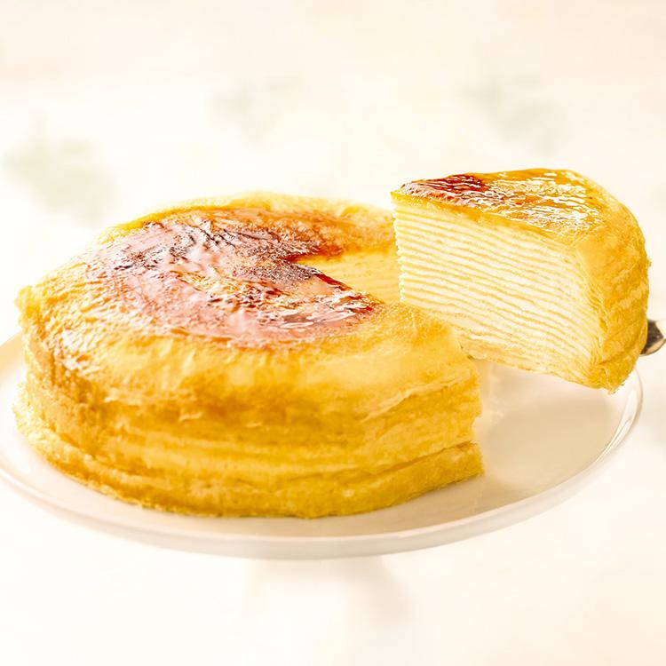 [カサネオ]ミルクレープ はじまり 15cm フローズン 洋菓子