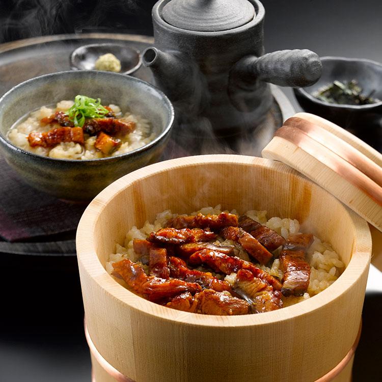 愛知・うなぎ割烹「一愼」鰻のひつまぶし(3食) 干物・漬魚・うなぎ・魚卵