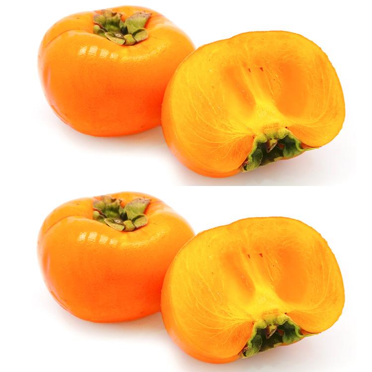 和歌山県産種なし柿&奈良県産種なし柿(各約1.5キロ) 食べ比べセット