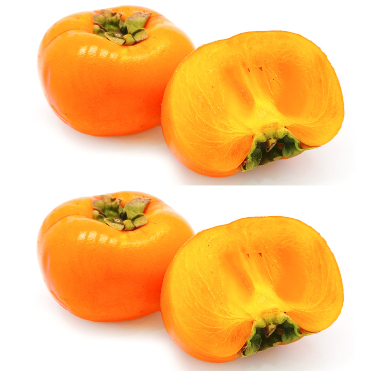和歌山県産種なし柿(約3キロ)&奈良県産種なし柿(約3キロ) 食べ比べセット