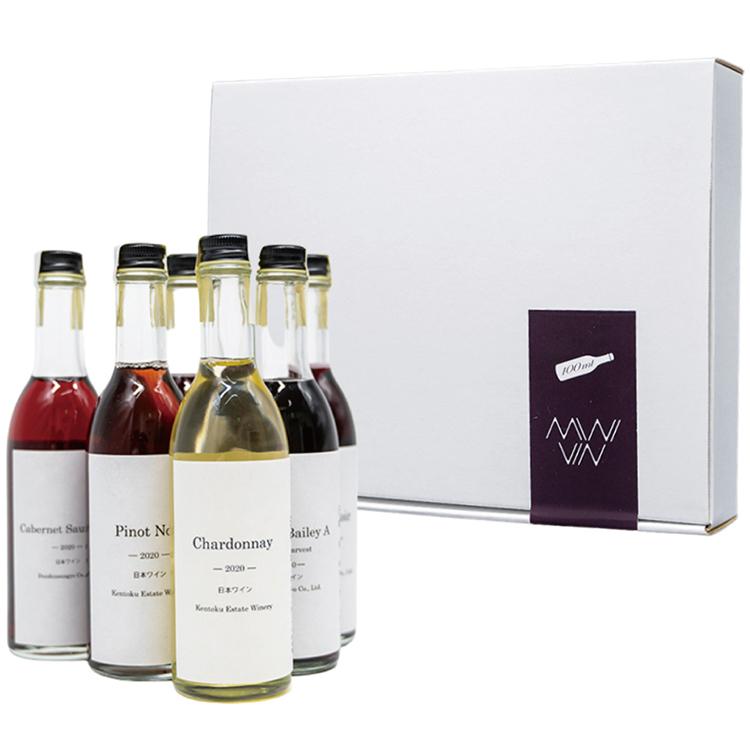 相模原産ぶどう100% さがみワインMINIVIN6種セット ワイン