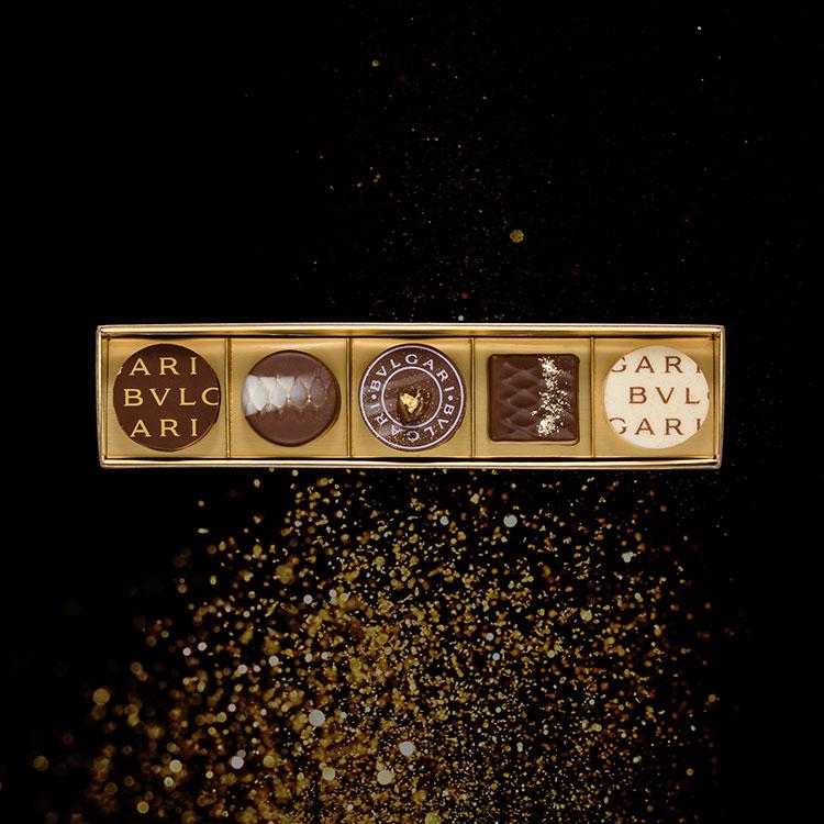 [BVLGARI IL CIOCCOLATO]チョコレートジェムズ5個入り 小田急のバレンタイン
